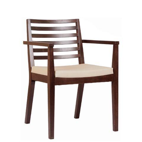 Chaise en bois LUISA P AL - avec accoudoirs