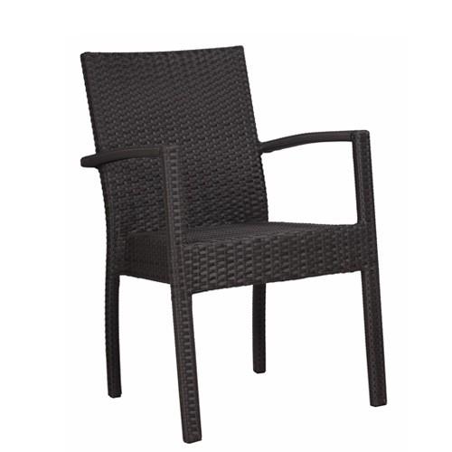 Chaise de terrasse SIMON - empilable