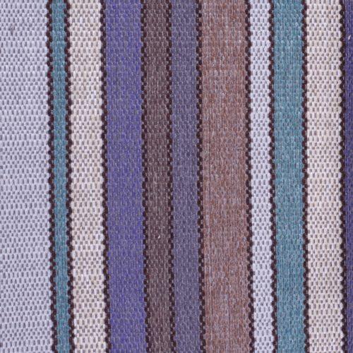 Tissu à rayures SBI37 bleu-gris
