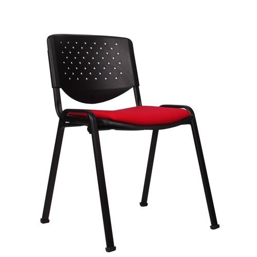 Chaise empilable ISO PR - époxy noire