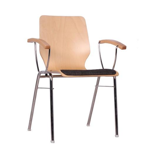 Chaise coque en bois / chaise empilable COMBISIT D20 SP
