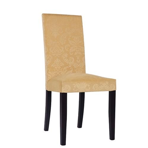 Chaise rembourrée THEA - tissu floral