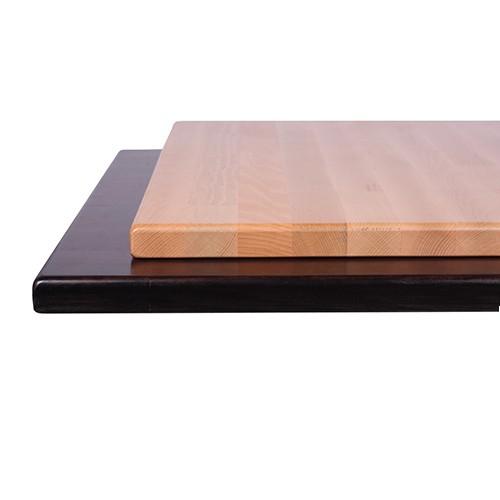 Plateau de table en HÊTRE massif - 29 mm d'épaisseur