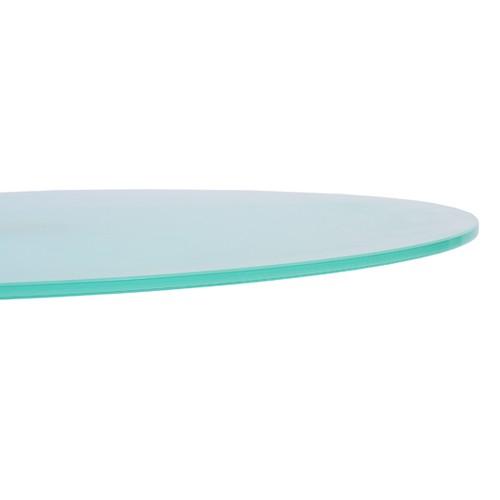 Plateau de table en VERRE satiné 70 cm