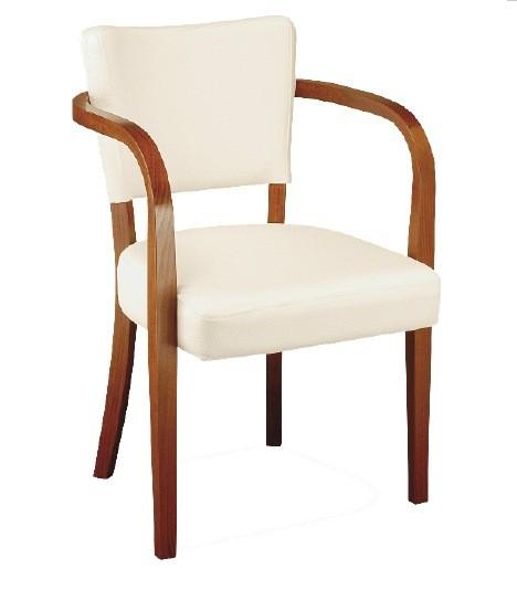 Chaise rembourrée avec accoudoirs ROBERT