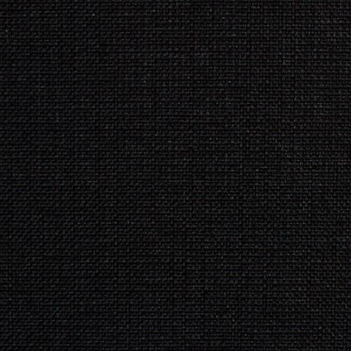 Tissu uni à structure fine SF02 noir