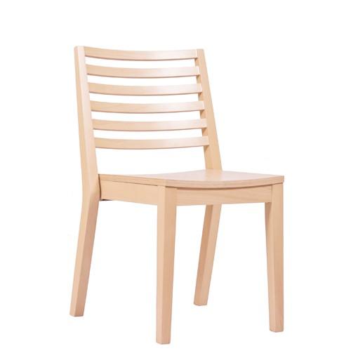 Chaise en bois LUISA ST - empilable
