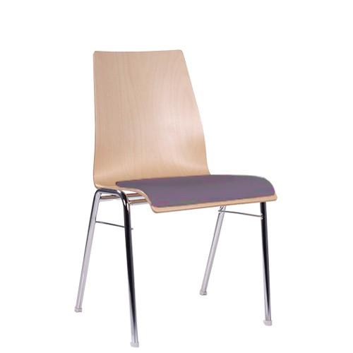 Chaise coque en bois / chaise empilable COMBISIT A51 SP
