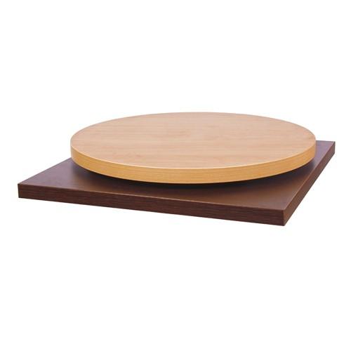 Plateau de table MÉLAMINÉ - bordure 44 mm