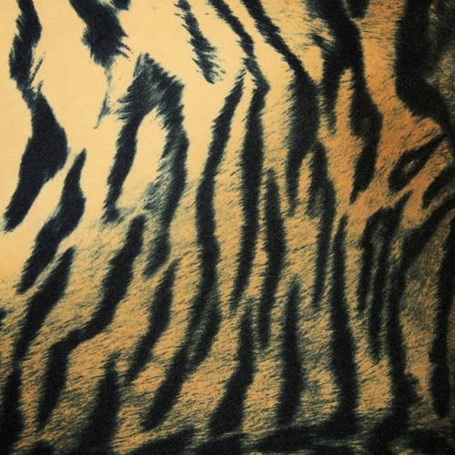 Tissu imitation fourrure TIGER - tigre