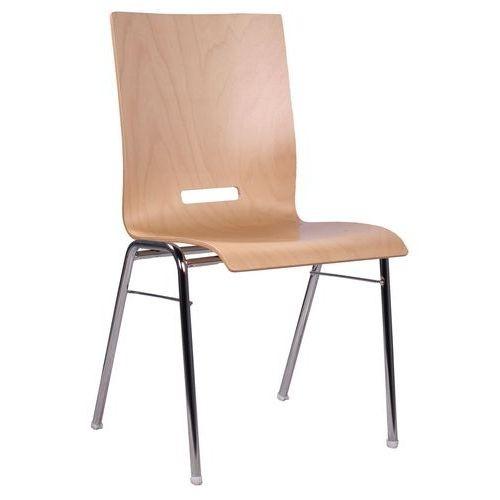chaise coque en bois / chaise empilable COMBISIT A42