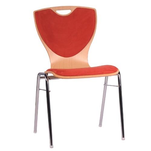 Chaise coque en bois / chaise empilable COMBISIT A60G SRP