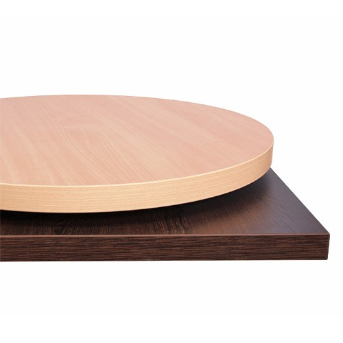 Plateau de table STRATIFIÉ (HPL) - 40 mm d'épaisseur