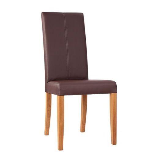 Chaise rembourrée RELA DS - avec surpiqûres décoratives