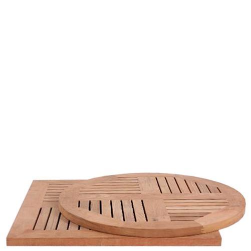 Plateau de table en TECK - 20 mm d'épaisseur