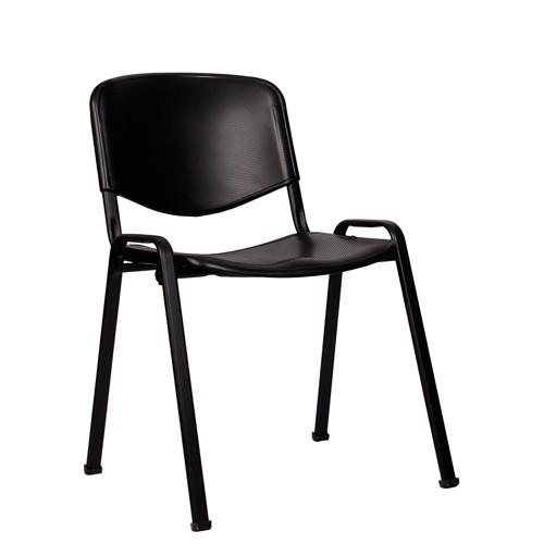 Stapelstuhl ISO P schwarz-schwarz