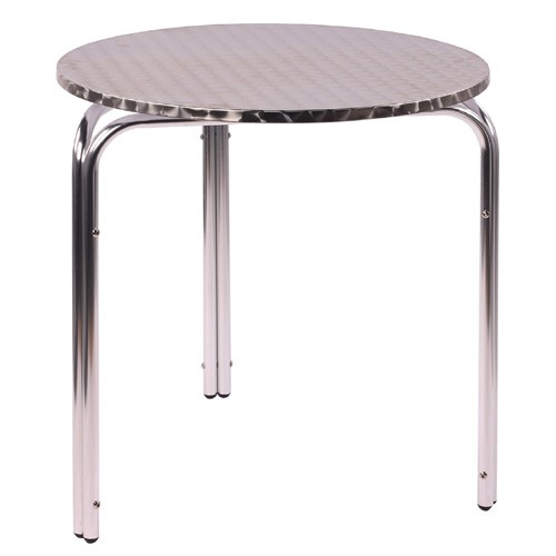 Table de terrasse IRENA D70 - aluminium