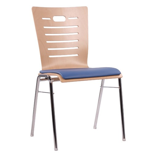 chaise coque en bois / chaise empilable COMBISIT A70 SP