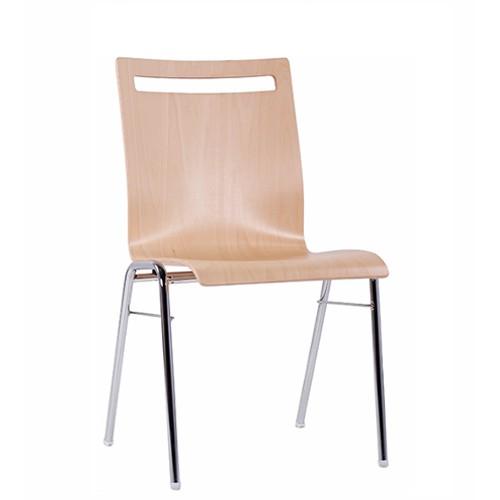 Chaise coque en bois / chaise empilable COMBISIT A45