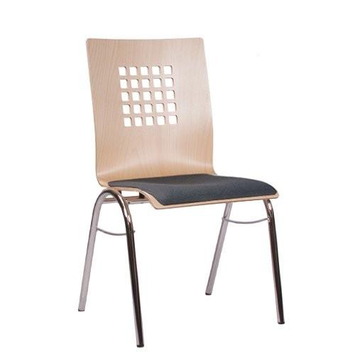 Chaise coque en bois / chaise empilable COMBISIT B41 SP