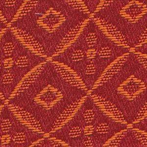 Tissu motifs losanges SR308 rouge