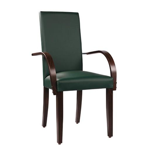 Chaise rembourrée avec accoudoirs THEA AL