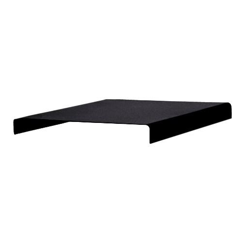 Tablette TRAY - acier pelliculé noire