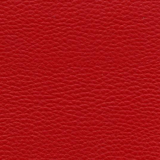 Cuir synthétique avec grains KB62 rouge carmin