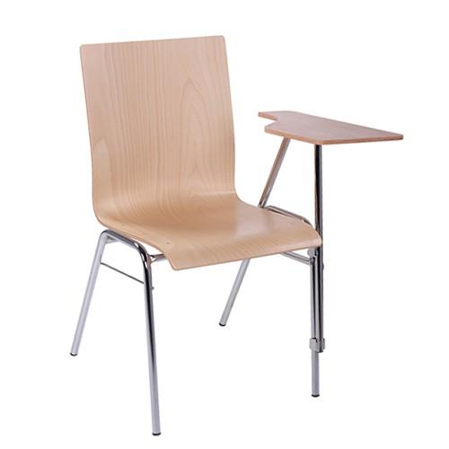 Chaise de séminaire, de conférence avec tablette écritoire pour gaucher COMBISIT SEMINAR