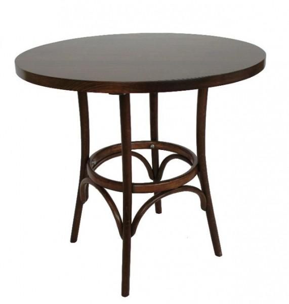 Table en bois courbé CLASSICO - ronde