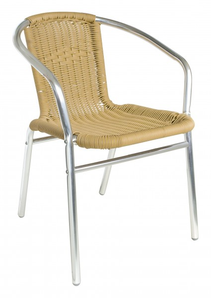 Chaise de terrasse KIR naturel - empilable