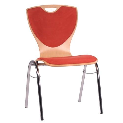 Chaise coque en bois / chaise empilable COMBISIT B60G SRP