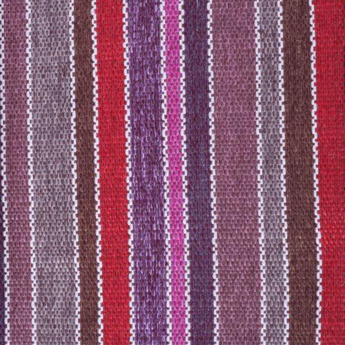 Tissu à rayures SBI69 rouge-violet