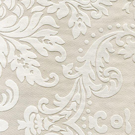 Tissu ornement baroque BD04 beige