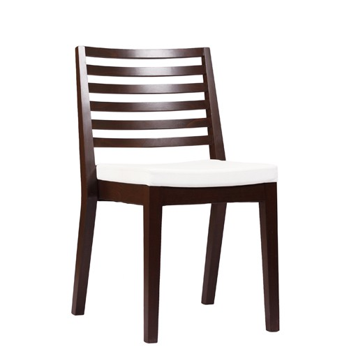 Chaise en bois LUISA P ST - empilable