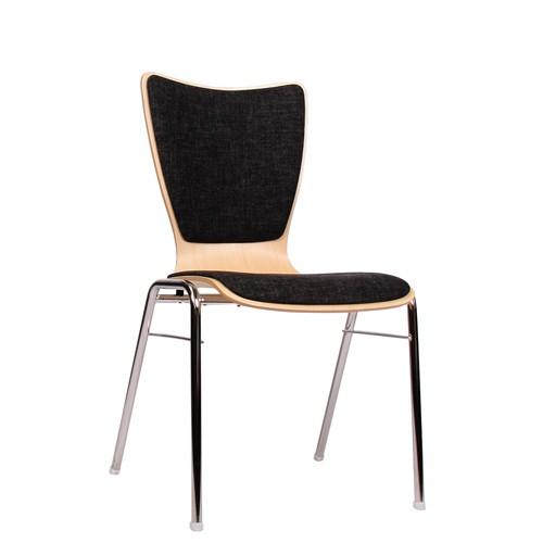 Chaise coque en bois / chaise empilable COMBISIT A30 SRP