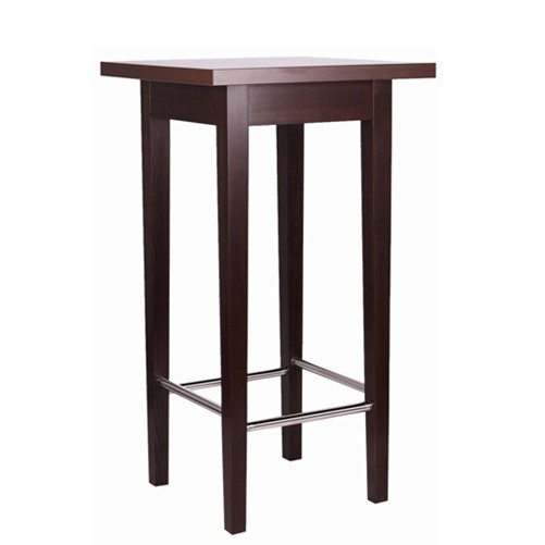 Table haute / mange-debout BELINDA 66/77 IX (60x60/70x70cm)
