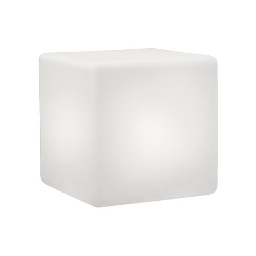 Siège cubique lumineux CUBO LED (40x40 cm)
