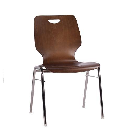 Chaise coque en bois / chaise empilable COMBISIT A20G NB