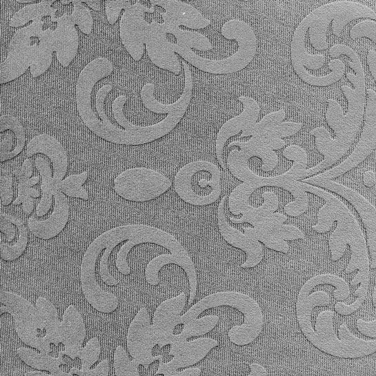 Tissu ornement baroque BD47 bleu gris