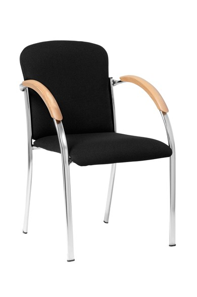 Chaise de conférence CLINT - empilable