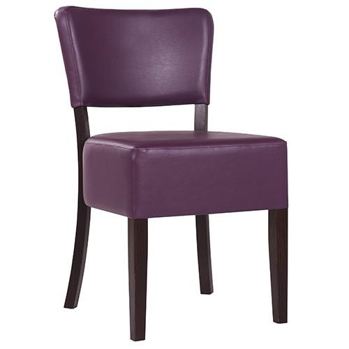 Chaise rembourrée TILO XL - grande assise