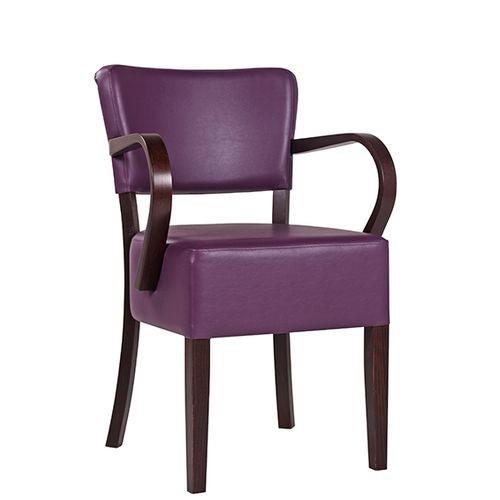 Chaise rembourrée avec accoudoirs TILO AL XL - grande assise