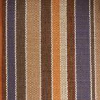 Tissu à rayures SBI54 bleu-marron