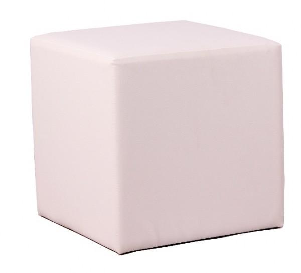 Siège cubique KUBIX blanc