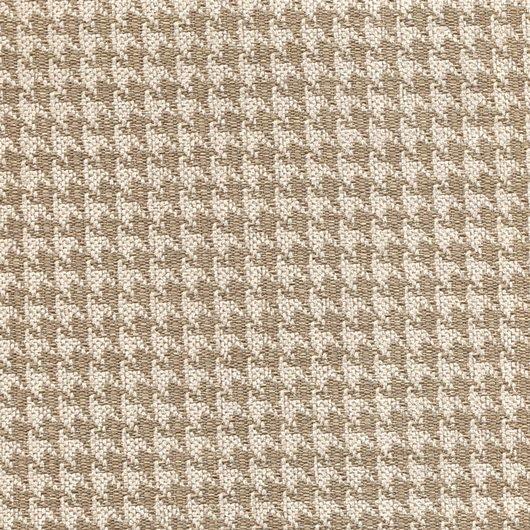 Tissu pied de poule PEP14 beige-marron