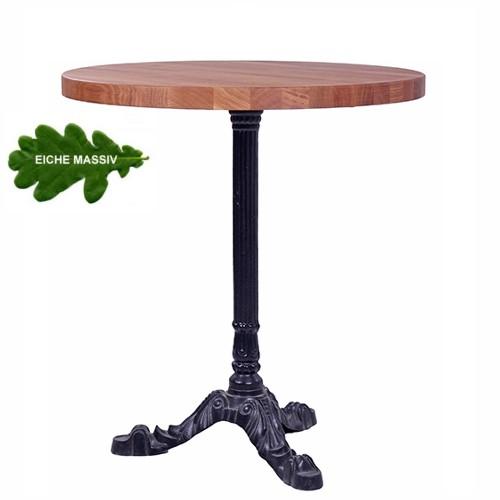 Piétement de table LEON 3 et plateau en chêne