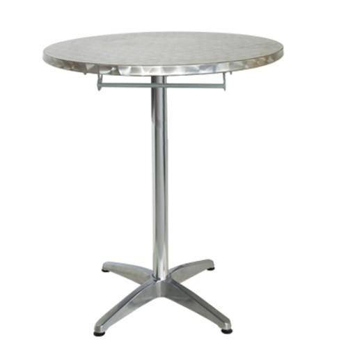 Table bistrot outdoor MIRANO - pliable - aluminium