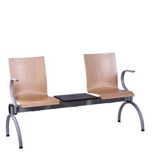 Traversenbank 2 Sitzer mit Tisch COMBISIT TC42T AL