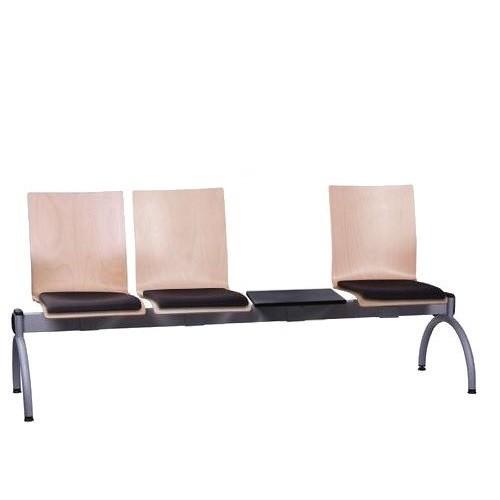 Siège poutre 3 places avec table COMBISIT TC43T SP - rembourré
